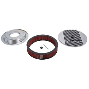 Edelbrock 4266 Elite Series Aluminum Air Cleaner