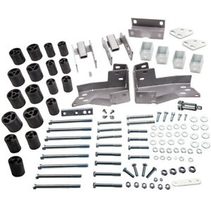 Body Lift Kit 3 Fit Chevrolet Gmc Silverado Sierra 1500 Extended Cab 2007 13