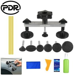 Us Car Body Paintless Dent Repair Kit Pdr Tools Hail Remover Puller Bridge 6tabs