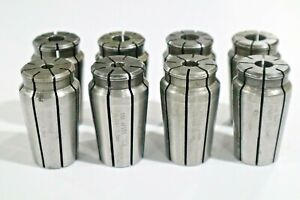8 Pcs Universal Acura flex Collets For 1 Capacity Collet Chuck C529