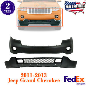 Front Bumper Cover Lower Valance Primed For 2011 2013 Jeep Grand Cherokee