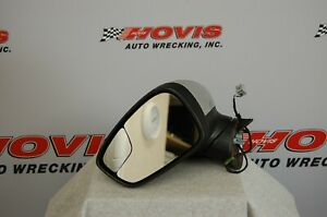 2016 Ford Fiesta Lh Driver Side Power Mirror Silver Fits 2011 2017