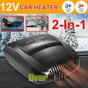2020 12v Fast Car Heater Heating Cooling Fan Defroster For Easy Snow Fog Removal