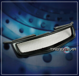 Front Upper Mesh Grille Grill Insert Black Abs For 2004 2005 2006 Maxima Sedan
