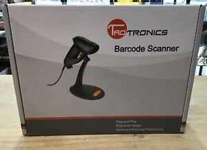 Taotronics Black Usb Automatic Wired Handheld Laser Barcode Scanner 30 88001 003