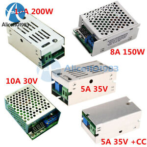 5a 8a 10a 150w 200w Dc dc Boost Buck Converter Charger Step Up Down Power Module