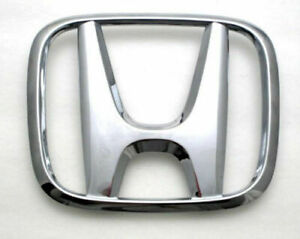 Front Grill H Emblem For Honda Accord 2003 2004 2005 2006 2007 2008 2009