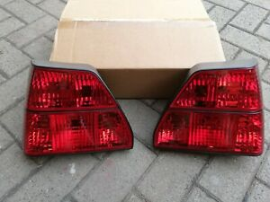 Vw Golf 2 Mk2 Gli Gt Gti 16v G60 Syncro Limited Lucid All red Euro Tail Lights