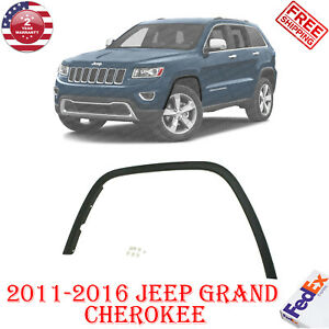 Front Fender Flare Left Driver Side Textured For 2011 2016 Jeep Grand Cherokee