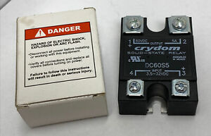 Crydom Dc60s5 Solid State Relay Load 3 60vdc 5a Control 3 5 32vdc new