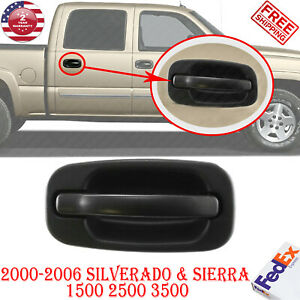 Rear Right Exterior Door Handle For 2000 2006 Silverado Sierra 1500 2500 3500