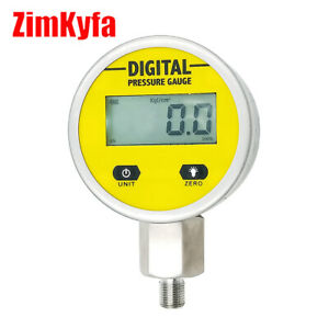 Paintball Pcp Digital Pressure Gauge Hydraulic Gas Water Oil Pressure Test Tool