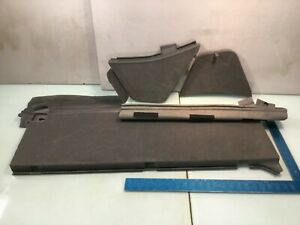 04 09 Toyota Prius Rear Cargo Floor Front Board Cover Panel Set Oem E