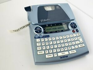 Brother Pt 1880 P touch Thermal File Label Maker Printer Blue Tested