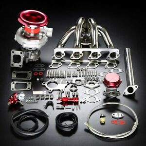 F23 T04e Stage Ii T04 Turbo Charger Manifold Upgrade Kit For 03 07 Ford Focus
