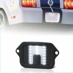 Fits 2005 2009 Ford Mustang 1 X 18 Smd Led License Plate Light Lamp Housing