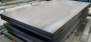 3 16 188 A36 Hot Rolled Steel Sheet Plate Flat Bar 4 X 12 Condition Is New