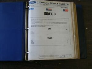 Oem Ford 1971 1972 1973 Service Bulletins Shop Tip Manuals Truck Mustang Nos