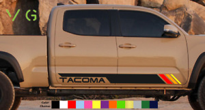 Toyota Tacoma Retro Classic Vinyl Decal Sticker Graphics Trd Sport Side Door X2