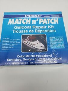 Evercoat Matchn Patch Gelcoat Repair Kit 100668 New Sealed