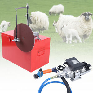 Electric Shearing Machine Heavy Duty Sheep Goats Clipper Shears Single Phase320w