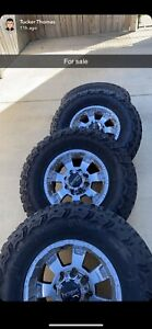 Off Road Used 35x12 50 Tires And 17 Inch Rims For Sale 8x6 5 Lug Pattern