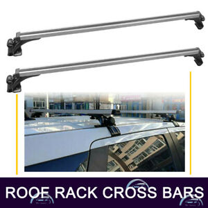 48 Universal Top Roof Rack Cross Bars Rails W 3 Kinds Clamp For Car Adjustable
