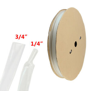 18ft 3 4 Heat Shrink Tubing Adhesive Glue Lined Tubes Marine Grade Wire Cable
