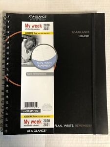 Academic Planner 2020 2021 At a glance Weekly Monthly Appointment Book X