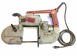 Milwaukee 6230 Corded Heavy Duty Band Saw Variable Speed 0 350 Fpm 120vac 6a