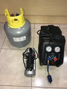 Dayton Refrigerant Recovery Machine 4ukv9 Pittsburgh Pump Tank Mint fast Ship
