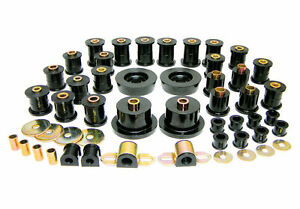 Prothane 1990 1997 Mazda Miata Mx5 Complete Suspension Bushing Inserts Black Kit