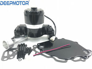 Small Block Ford Electric Water Pump 289 302 351w Sbf High Volume Flow Withplate