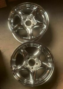 1994 1998 Ford Mustang Wheels Rim 16 Inch 5x114 3 Hollander 3088 Chrome
