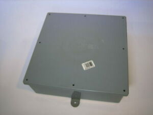 Cantex 12x12x4 Pvc Electrical Junction Box Great Shape