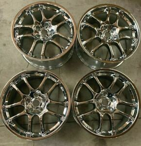 2005 2006 Infiniti G35 Wheels Rim 18 Inch 5x114 3 Hollander 73682 Chrome