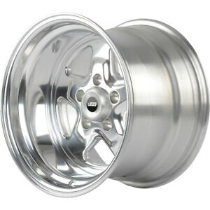 Jegs 66089 Sport Star 5 spoke Wheel Size 15 X 10 Bolt Pattern 5 X 5 Back Spaci