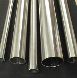 Stainless Steel Tubing 1 4 O d X 12 Inch Length X 040 Wall Polished 6mm