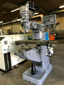 Bridgeport Series I 1 Hp late Model Vertical Ram Type Milling Machine