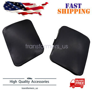 2 X Front Left Right Bumper Tow Hook Cover Cap For Toyota Rav4 2006 2009