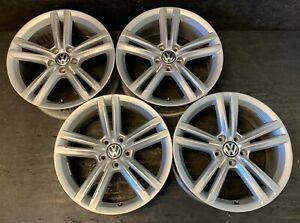 4 Vw Volkswagen Passat Eos Golf Gti Jetta Phaeton Rabbit Wheels Rims Caps 18