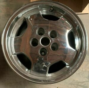 1997 1998 Grand Cherokee Wheels Rims 16 Inch 5x114 3 Hollander 9071 Chrome