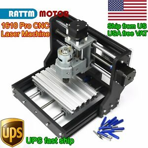 us 1610 Pro Cnc Laser Pcb Milling Machine Diy Hobby Wood Router Grbl Controller