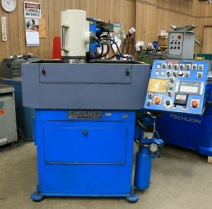 16 Chk 7hp Spdl Swisher Rotary Auto Cycle New 1987 Rotary Surface Grinder A