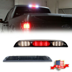 Full Led Black Replacement 3rd Third Brake Cargo Tail Light For 15 20 Ford F150