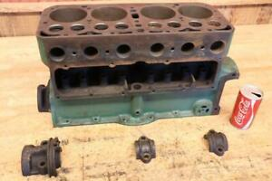 Antique Vintage 1929 Model A Ford Car Truck Engine Block Has A Crack