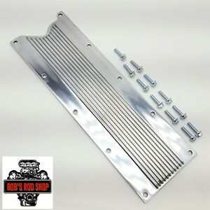 Ls1 Ls6 Lsx Polished Finned Aluminum Valley Cover Ls Engine 4 8 5 3 6 0