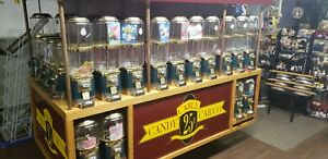 Cable Car Candy Vending Cart