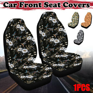 1pc Universal Auto Car Front Seat Covers High Back Bucket Protector Mat Cushion