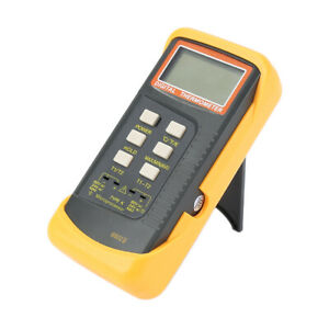 6802 Ii Dual Channel K Type Digital Thermocouple Thermometer Tester Measure Tool